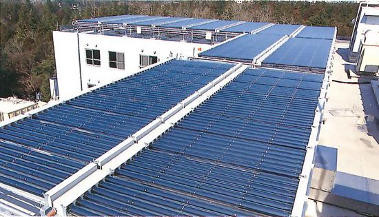 最新のソーラーシステム(通産省指導)